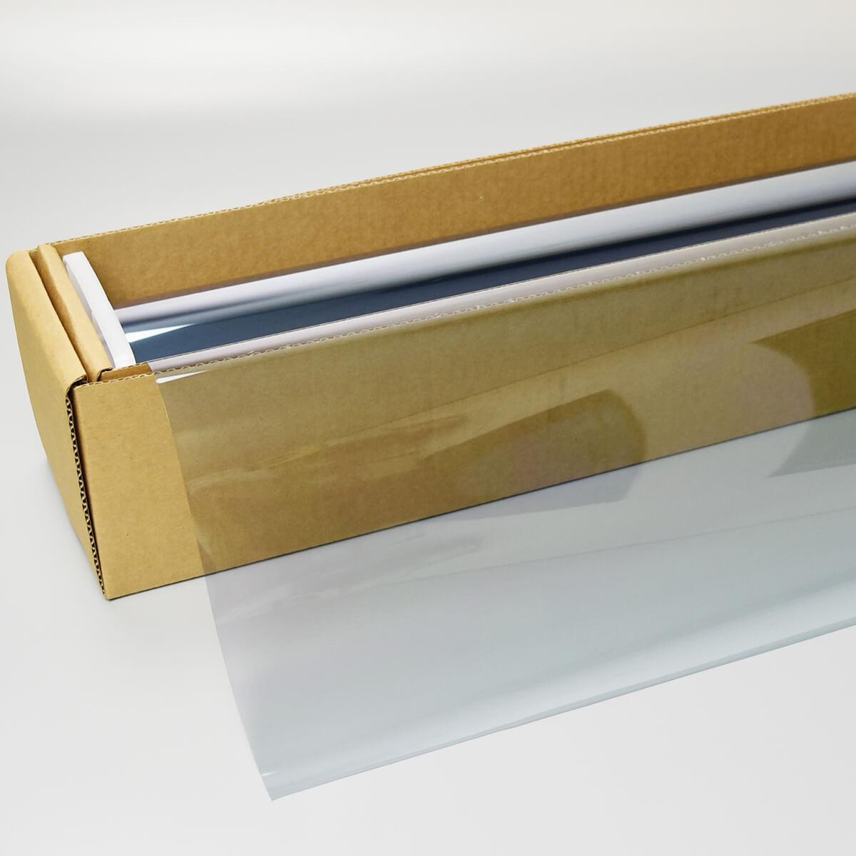 カーフィルム WraithBlue(レイスブルー) オーロラ70  1m幅 x 30mロール箱売 多層マルチレイヤー オーロラフィルム70 飛散防止フィルム 遮熱フィルム 断熱フィルム UVカットフィルム 赤外線遮蔽 Braintec