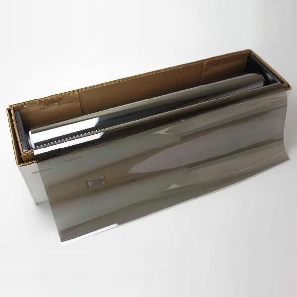 カーフィルム 窓ガラスフィルム USAフィルム インフィニティー35(ハーフミラー33%) 1m幅×30mロール箱売 遮熱フィルム 断熱フィルム UVカットフィルム ブレインテック Braintec