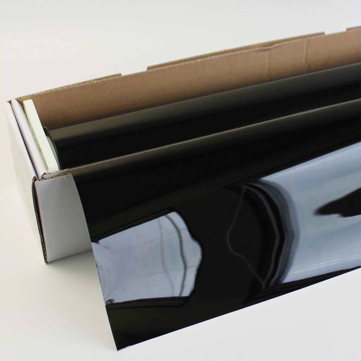 カーフィルム 窓ガラスフィルム IR断熱ブラック02(2%) 50cm幅×30mロール箱売 スモークフィルム プライバシーフィルム 遮熱フィルム 断熱フィルム UVカットフィルム ブレインテック Braintec