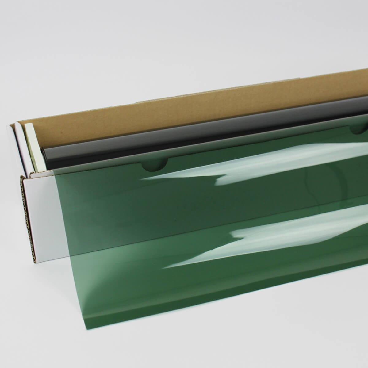 カーフィルム 窓ガラスフィルム IRグリーン30(30%) 50cm幅×30mロール箱売 カラーフィルム 染色フィルム 遮熱フィルム 断熱フィルム UVカットフィルム ブレインテック Braintec