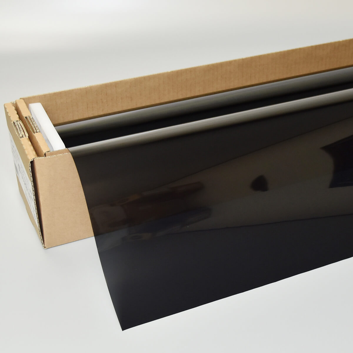 カーフィルム 窓ガラスフィルム NEWレギュラー・スモーク15(15%) 1m幅×30mロール箱売 スモークフィルム UVカットフィルム ブレインテック Braintec