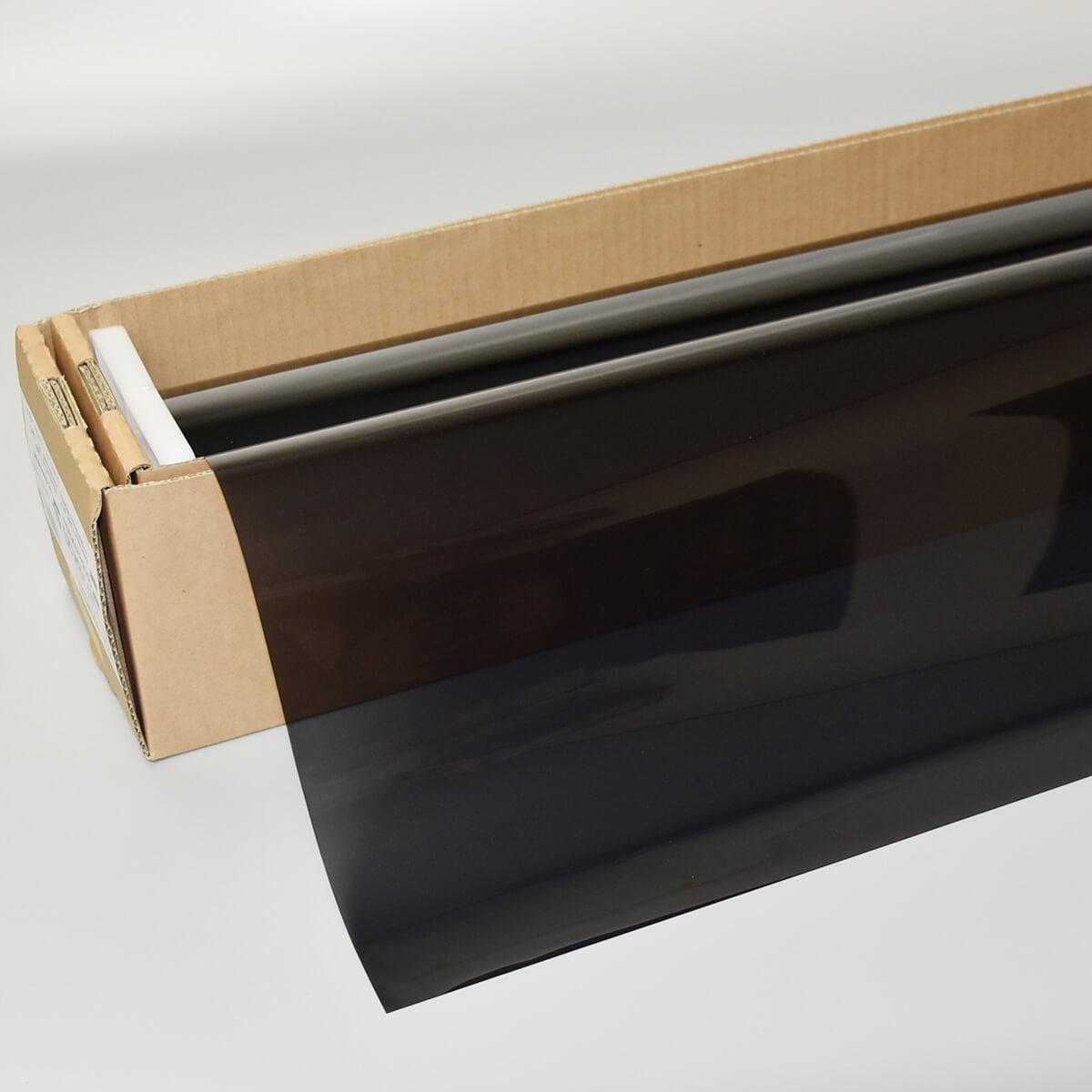 NEWレギュラー・スモーク20(20%) 1m幅×30mロール箱売 カーフィルム スモークフィルム UVカットフィルム ブレインテック Braintec #NR-BK2040 Roll#