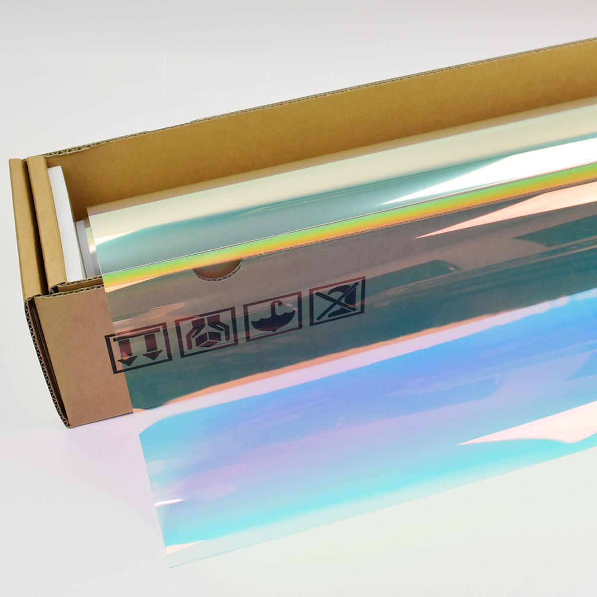 Newタイプ 多層高反射 高発色 プリズムフィルム FUNKY GHOST ファンキーゴースト #PR99 プリズムフィルム99 Roll# プリズム99 多層マルチレイヤー 高級な 20 50cm幅×30mロール箱売 上等