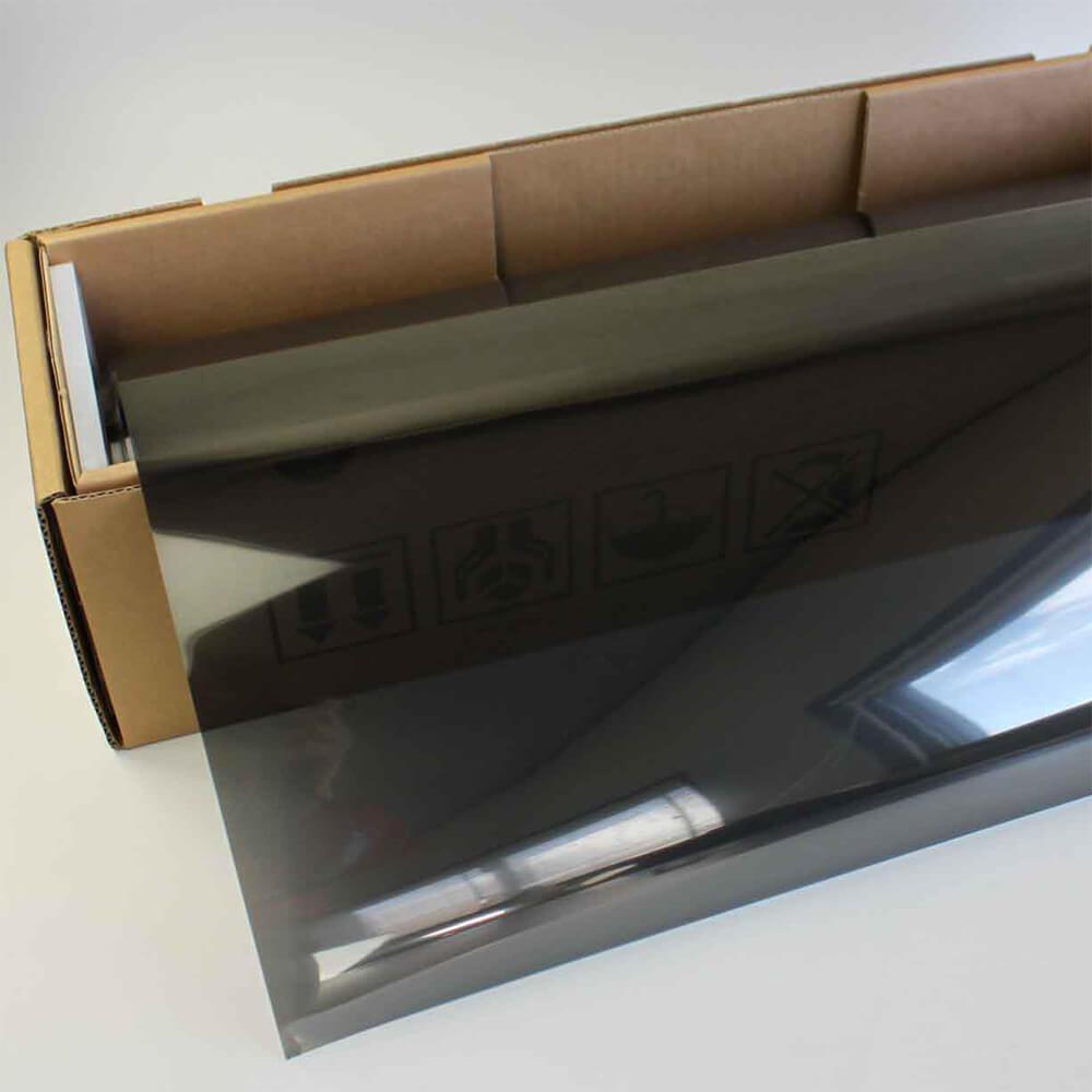 カーフィルム 窓ガラスフィルム プロ・ブラックパール20(18%) 50cm幅×30mロール箱 スモークフィルム 原着フィルム 遮熱フィルム 断熱フィルム UVカットフィルム ブレインテック Braintec