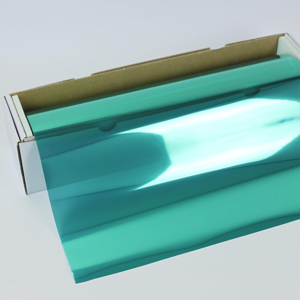 カーフィルム 窓ガラスフィルム SPターコイズ15(18%) 1m幅×30mロール箱売 ミラーフィルム 遮熱フィルム 断熱フィルム UVカットフィルム ブレインテック Braintec