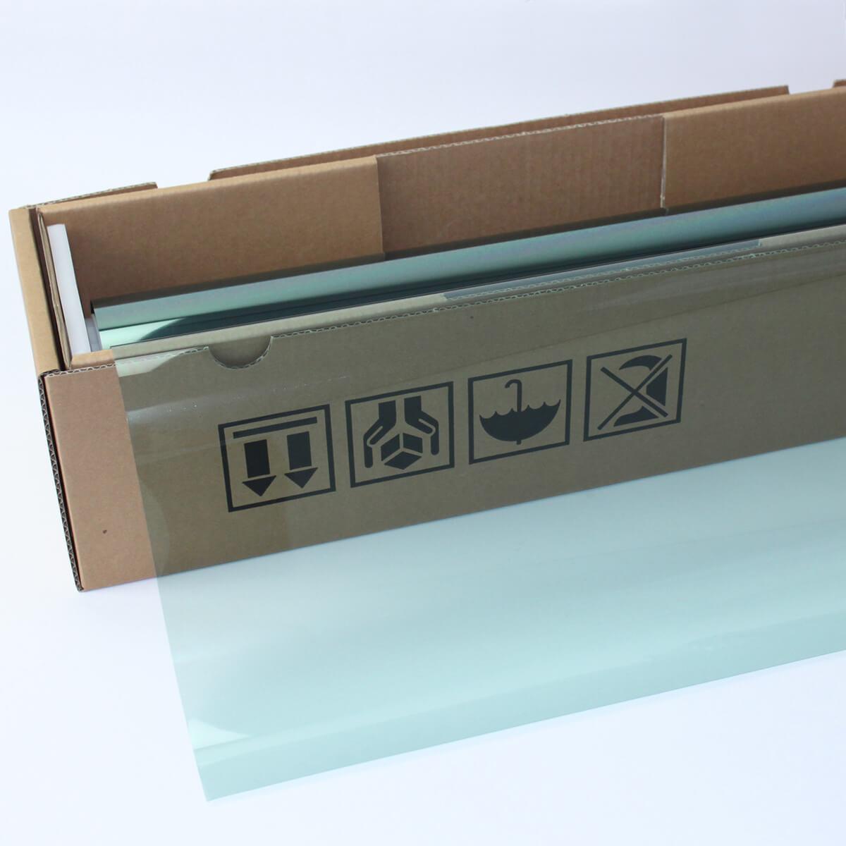 送料無料 ウィンドウフィルム 窓ガラスフィルム スーパーUV400グリーン65(65%) 1m幅×30mロール箱売 遮熱フィルム 断熱フィルム UVカットフィルム ブレインテック Braintec
