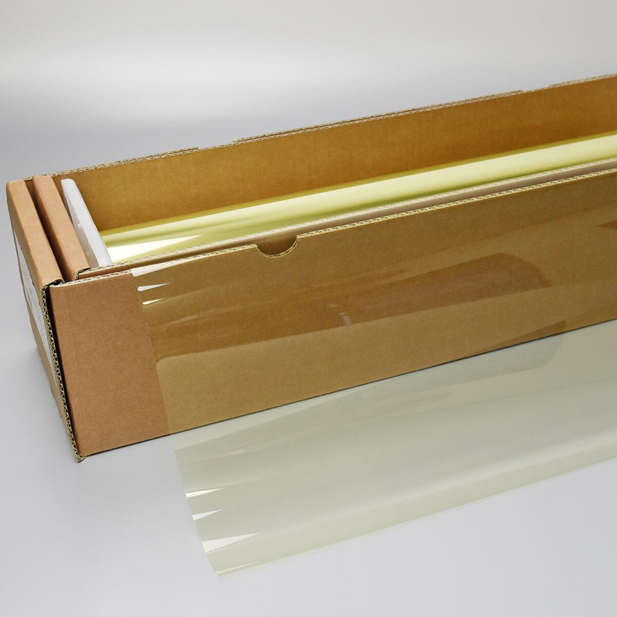 送料無料 ウィンドウフィルム 窓ガラスフィルム スーパーUV400イエロー89(89%) 1m幅×30mロール箱売 遮熱フィルム 断熱フィルム UVカットフィルム ブレインテック Braintec