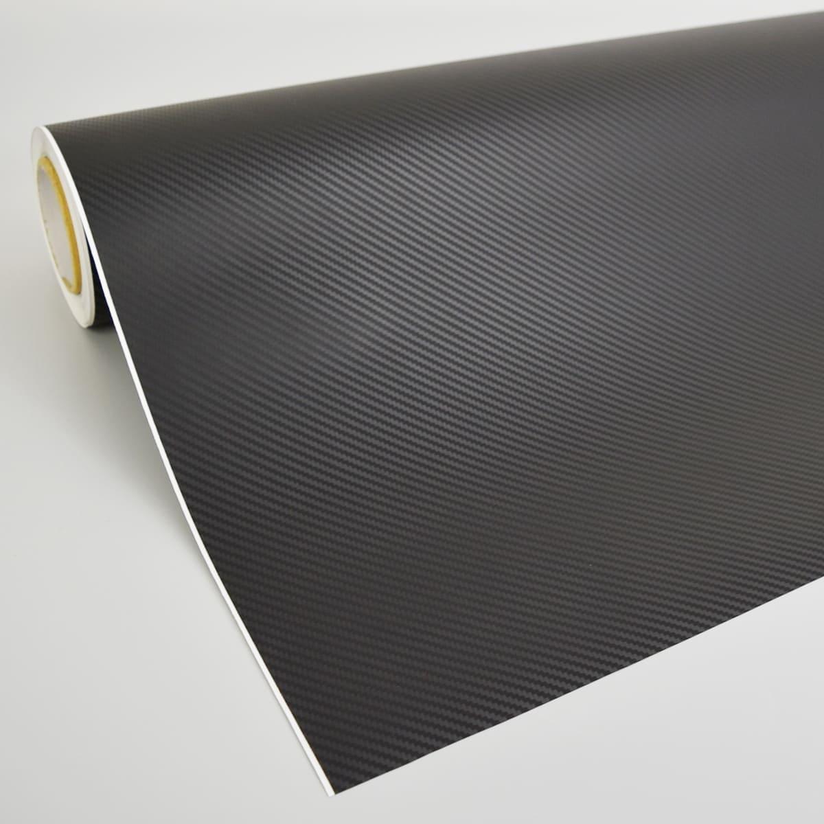 【ラッピングフィルム】【ラッピングシート】3Dカーボンブラック(ローコスト低価格タイプ) 1m幅×30mロール箱売 エア抜き糊