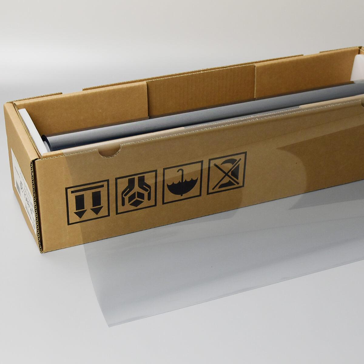 送料無料 ウィンドウフィルム 窓ガラスフィルム IR透明断熱80(79%) 1m幅×30mロール箱売 飛散防止フィルム 遮熱フィルム 断熱フィルム UVカットフィルム ブレインテック Braintec