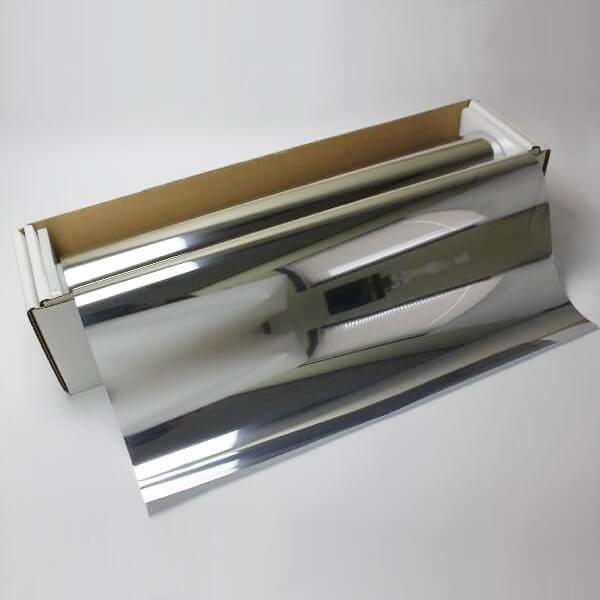 ウィンドウフィルム 窓ガラスフィルム シルバー15 1m幅×30mロール箱売 マジックミラーフィルム 遮熱フィルム 断熱フィルム UVカットフィルム ブレインテック Braintec