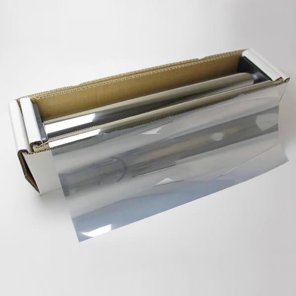 送料無料 ウィンドウフィルム 窓ガラスフィルム シルバー35 1m幅×30mロール箱売 マジックミラーフィルム 遮熱フィルム 断熱フィルム UVカットフィルム ブレインテック Braintec