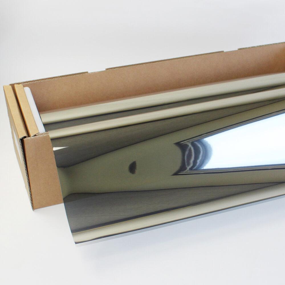 送料無料 ウィンドウフィルム 窓ガラスフィルムスパッタシルバー15 92cm幅×30mロール箱売 マジックミラーフィルム 遮熱フィルム 断熱フィルム UVカットフィルム ブレインテック Braintec