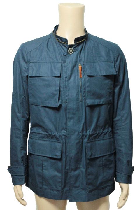 Minetto ミネット M65 コットン ジャケット ネイビー size 50 メンズ【中古】【2点以上同時購入で送料無料】