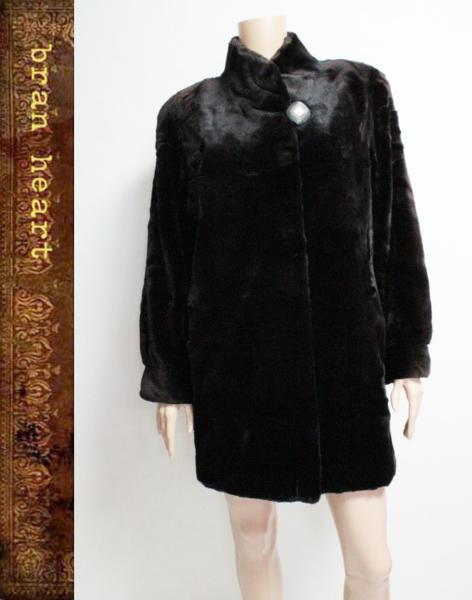 Fur Griser SAGA MINK サガミンク シェアードミンク ロング コート 毛皮 ファー サイズ9【中古】レディース アウター【送料無料】