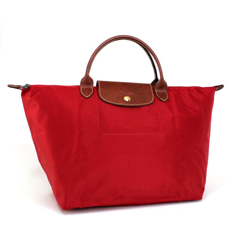 ロンシャン LONG CHAMP ハンドバッグ M ル・プリアージュ ミディアムサイズ ルージュレッド Le Pliage Hand Bag M ROUGE 1623 089 545