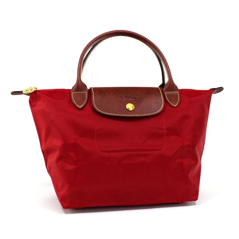 ロンシャン LONG CHAMP ハンドバッグ S ル・プリアージュ スモールサイズ ルージュレッド Le Pliage Hand Bag S Rouge 1621 089 545