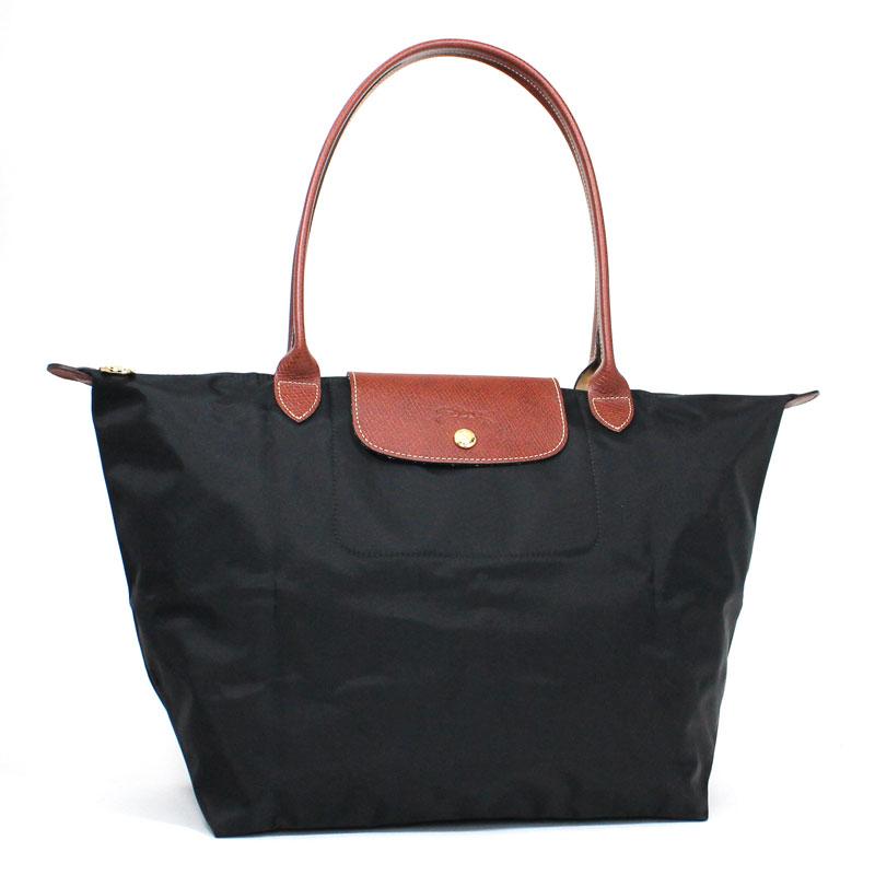 ロンシャン LONG CHAMP トートバッグ L ラージサイズ ル・プリアージュ ブラック ノワール Le Pliage Tote Bag Large NOIR 1899 089 001