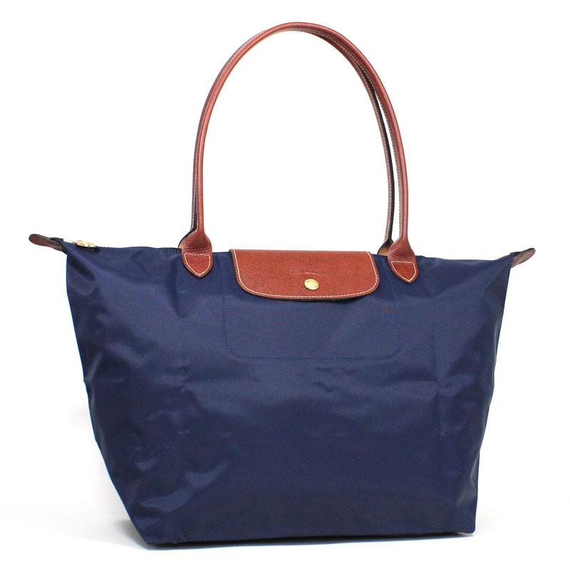 ロンシャン LONG CHAMP トートバッグ L ル・プリアージュ ラージサイズ ネイビー ブルー Le Pliage Tote Bag L NAVY 1899 089 556