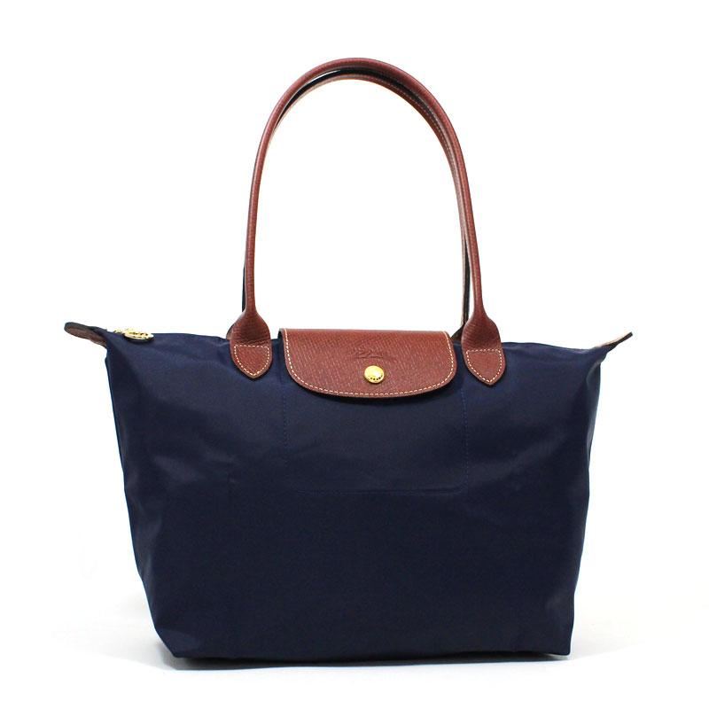 ロンシャン LONGCHAMP ル・プリアージュ トートバッグ S スモールサイズ ネイビー ブルー 紺 Le Pliage Tote Bag Small L2605 089 556