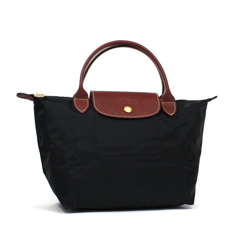 ロンシャン LONG CHAMP ハンドバッグ S スモールサイズ ル・プリアージュ ブラック ノワール 黒 Le Pliage Hand Bag S Black L1621 089 001