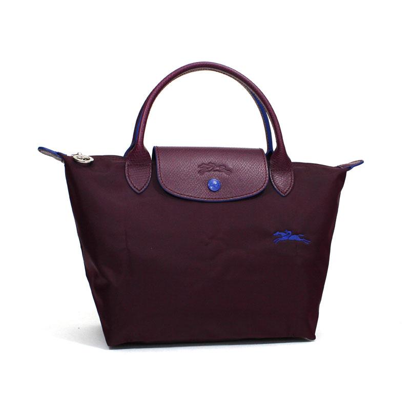 ロンシャン LONG CHAMP ハンドバッグ S スモールサイズ ル・プリアージュ クラブ プラム パープル Le Pliage Club Hand Bag S PLUM L1621 619 P22
