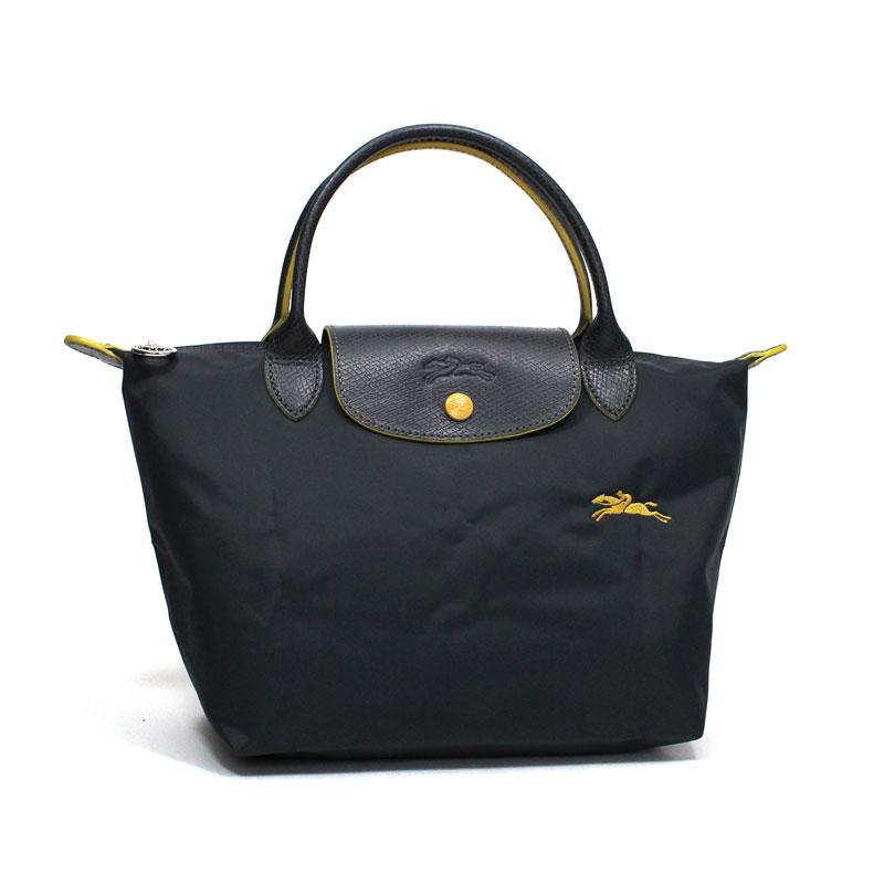 ロンシャン LONG CHAMP ハンドバッグ S スモールサイズ ル・プリアージュ クラブ ガンメタル ダークグレー Le Pliage Club Hand Bag S GUNMETAL L1621 619 300
