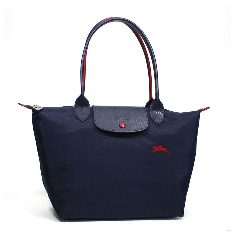 ロンシャン LONG CHAMP トートバッグ S スモールサイズ ル・プリアージュ クラブ ネイビー Le Pliage Club Tote Bag Small Navy L2605 619 556