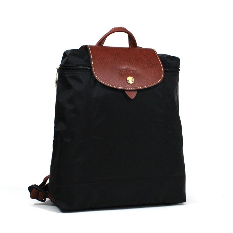ロンシャン LONG CHAMP ル・プリアージュ バックパック ブラック リュックサック ノワール Le Pliage Back Pack Noir L1699 089 001