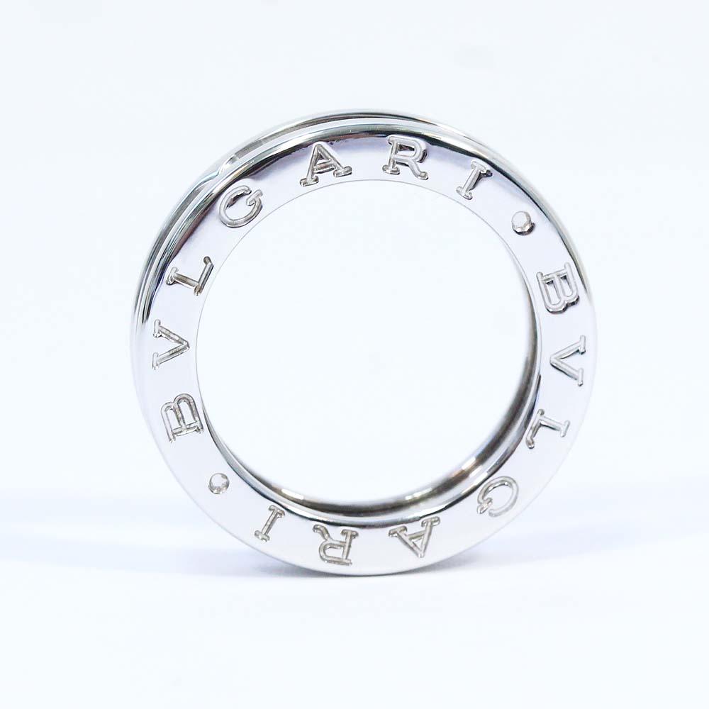 中古 美品 B-ZERO1 ビーゼロワン XSサイズ バースデー 記念日 ギフト 贈物 お勧め 通販 ユニセックス リング セール ホワイトゴールド BVLGARI 10号 指輪 ブルガリ ジュエリー K18ゴールド