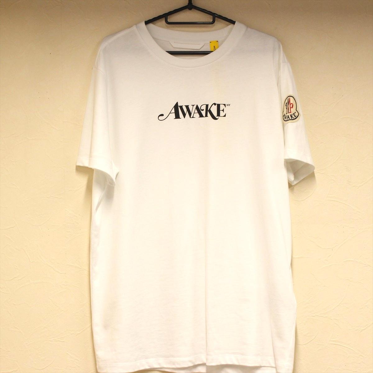 MONCLER Genius モンクレール AWAKE Tシャツ Lサイズ メンズ 【中古品】 N20-1524 中洲店