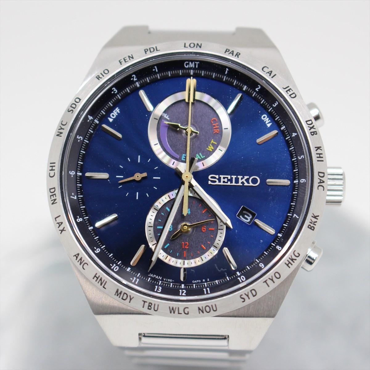 日本に SEIKO セイコー SBPJ041 セイコーセレクション 2020 サマー限定モデル 600本限定 ソーラー 腕時計 メンズ 【品】 N20-2709 中洲店, コウヤマチョウ fa331482