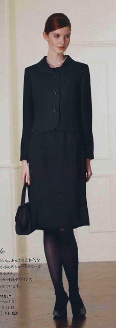 【送料無料 代引き手数料無料】LAPINE FORMAL(ラピーヌ フォーマル)礼服 女性 喪服 レディース アンサンブル(7号,9号,11号,13号) 卒業式 入学式 冠婚葬祭 ブラックフォーマル 喪服