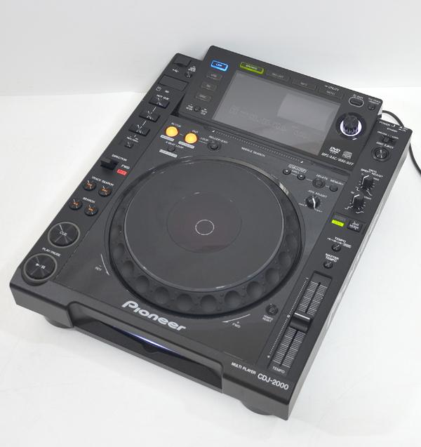 迅速な対応で商品をお届け致します Pioneer パイオニア 推奨 CDJ-2000 2009年製 CDJプレーヤー