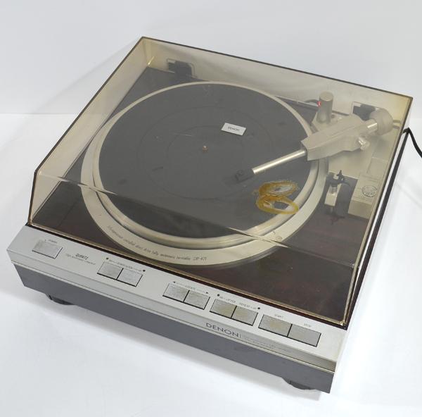 DENON 超激得SALE デノン 人気 おすすめ DP-47F レコードプレーヤー ターンテーブル