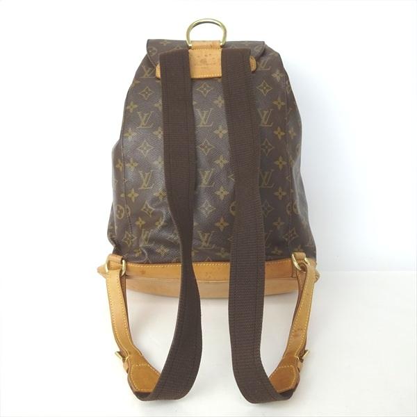 272e54264c0f Louis Vuitton Vuitton rucksack Luc case bag pack monogram brown mon  pickpocket M51135 bag bag bag lady s Louis Vuitton Vuitton rucksack for  women