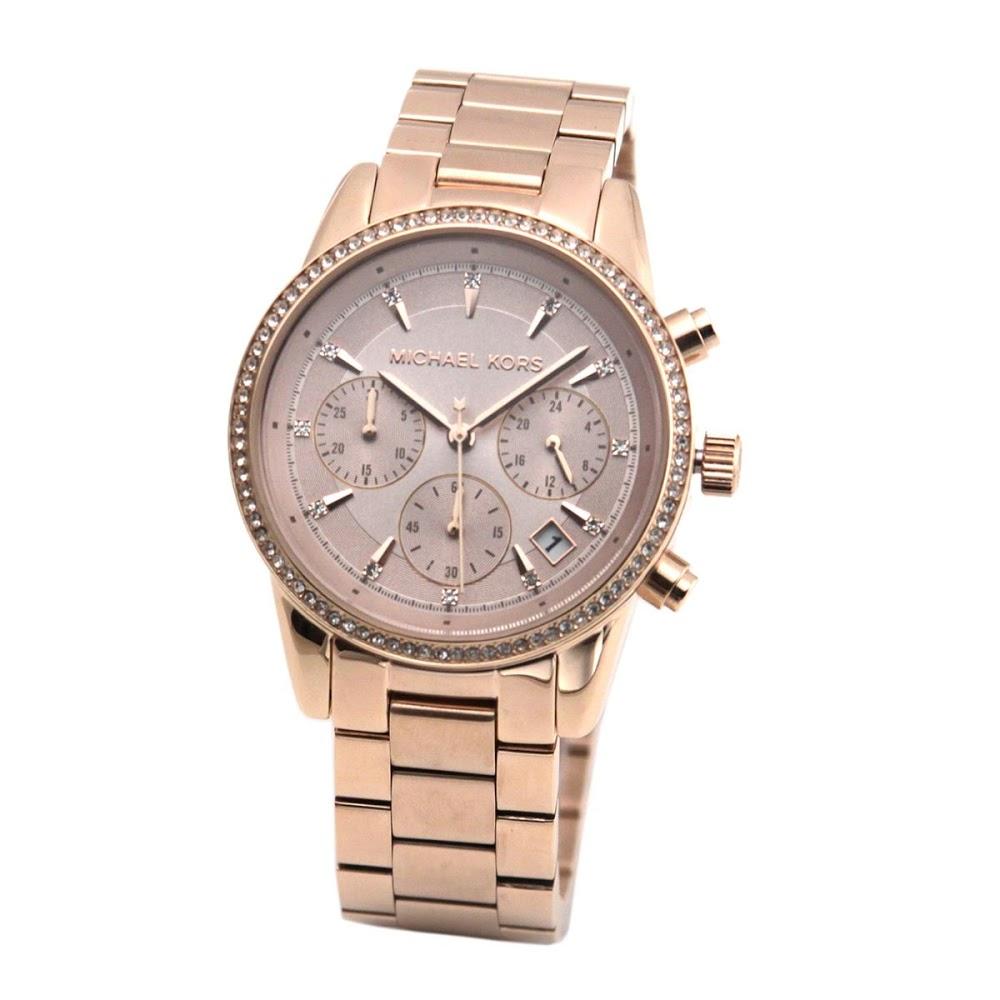 マイケル コース MICHAEL KORS MK6357 レディース クロノグラフ 腕時計【MICHAEL KORS】【新品】【Brandshop IL】