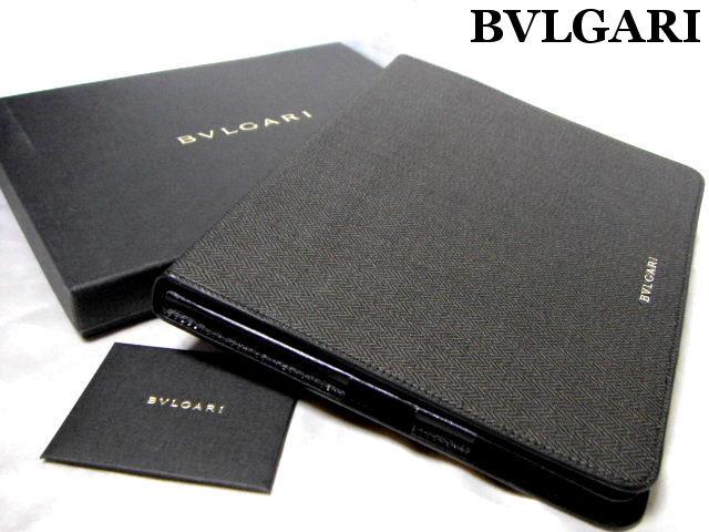 【新品】BVLGARI ブルガリ iPadケース タブレットケース ウィークエンド WEEKEND ブラック【未使用】【中古】【新品】