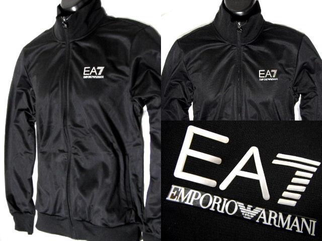 EMPORIO ARMAN EA7エンポリオ アルマーニフルジップ トラックジャケット ブラック【未使用】【中古】【新品】