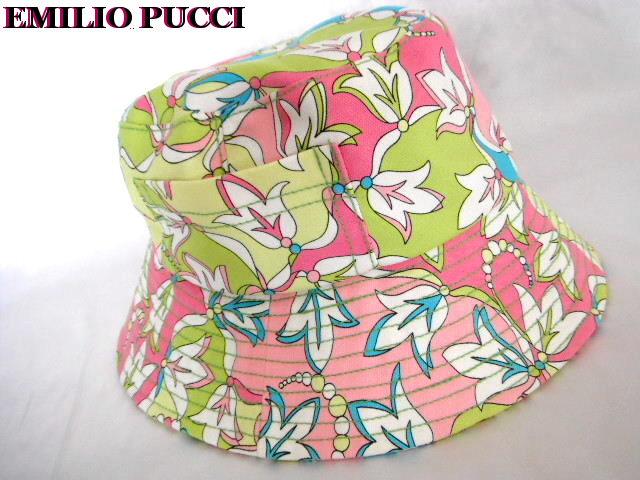 EMILIO PUCCI エミリオプッチ ハット 帽子【未使用】【中古】【新品】