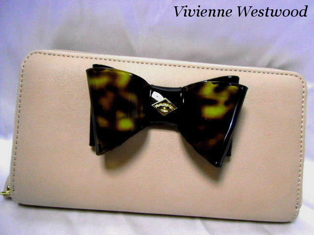 Vivienne Westwood ヴィヴィアンウエストウッド ラウンドファスナー 長財布 レディース レザー 5140V126V SOMERSET ROSE【未使用】【中古】【新品】