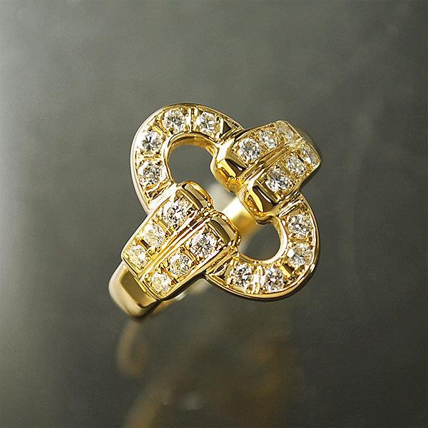 送料無料 流行 本物 Phoenicia フェニキア ダイヤモンドリング 指輪 750 K18 磨き済み おしゃれ 723-100M 通信販売 イエローゴールド 7号 ダイヤモンド0.40ct レディース