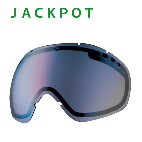 『DICE/ダイス・LJP-4984013955198』【JACKPOT/ジャクポット用】専用ジャクポット専用/スペアレンズ単品:L-JACKPOT-PMd[PBLU] 偏光ミラーレンズ・撥水加工付