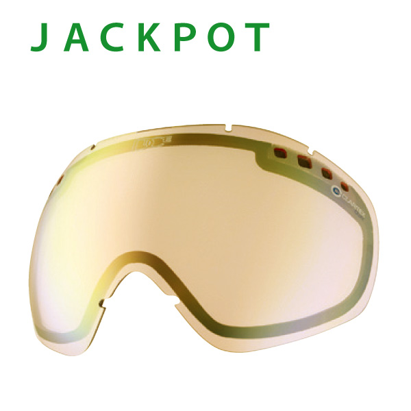 『DICE/ダイス・LJP-4984013976544』【JACKPOT/ジャクポット用】専用ジャクポット専用/スペアレンズ単品:L-JACKPOT-Md[LBPBL] ミラーレンズ・撥水加工付き