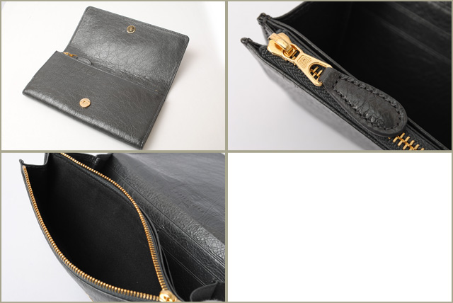 fb6b5d4eeab4 Balenciaga BALENCIAGA wallets wallet   money giant 233599 vintage grey gold  bracket