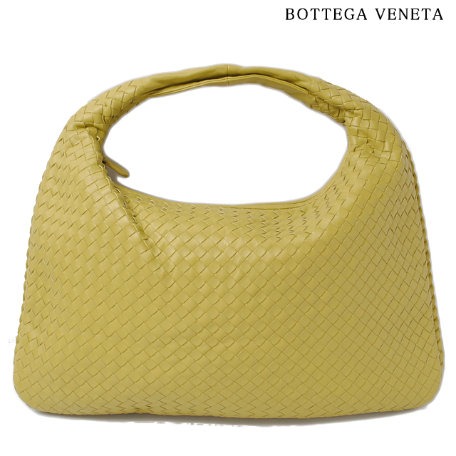 Bottega Veneta Shoulder Bag Hobo Bags Intrecciato Na Mustard Yellow Outlet