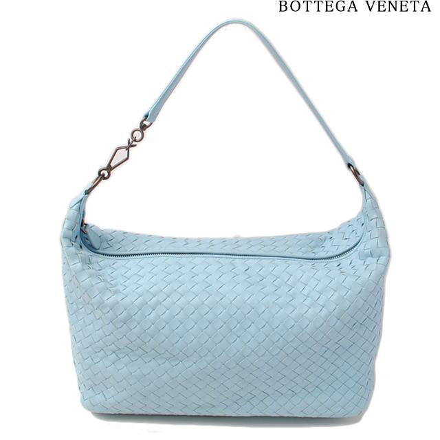 ボッテガヴェネタ ハンドバッグ BOTTEGA VENETA 309065 V0016 4960 イントレチャート ナッパ シエルブルー アウトレット