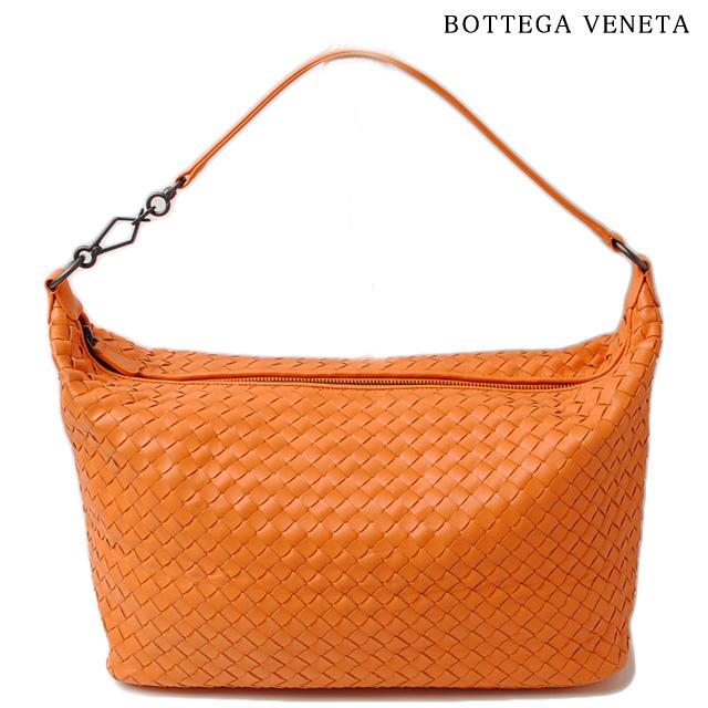 ボッテガヴェネタ ハンドバッグ BOTTEGA VENETA 309065 V0016 4960 イントレチャート ナッパ オレンジ アウトレット