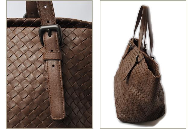 1c6cb2dc3e45 Bottega Veneta tote bag and rage that. BOTTEGA VENETA intrecciato nappa  Brown of 272154
