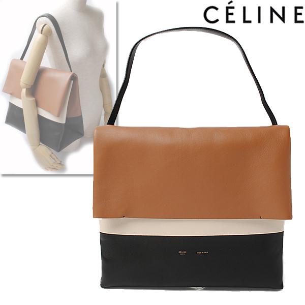 a1b6963c8f05 Import shop P.I.T.  CELINE Celine shoulder bag   clutch bag オールソフト ALL SOFT Tan  TAN 17218 3PIA 04LU
