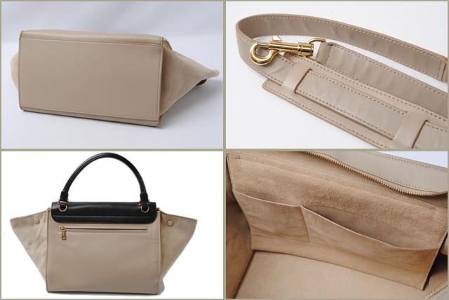 01fa578fea Import shop P.I.T.  Celine handbag   shoulder bag CELINE Trapeze ...